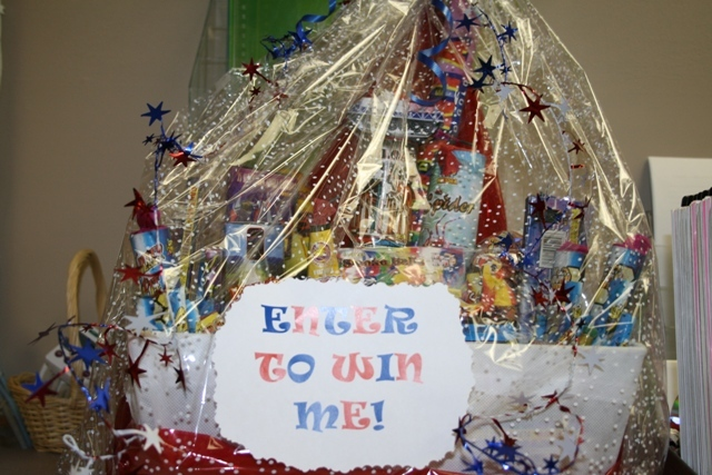 Image of a gift basket